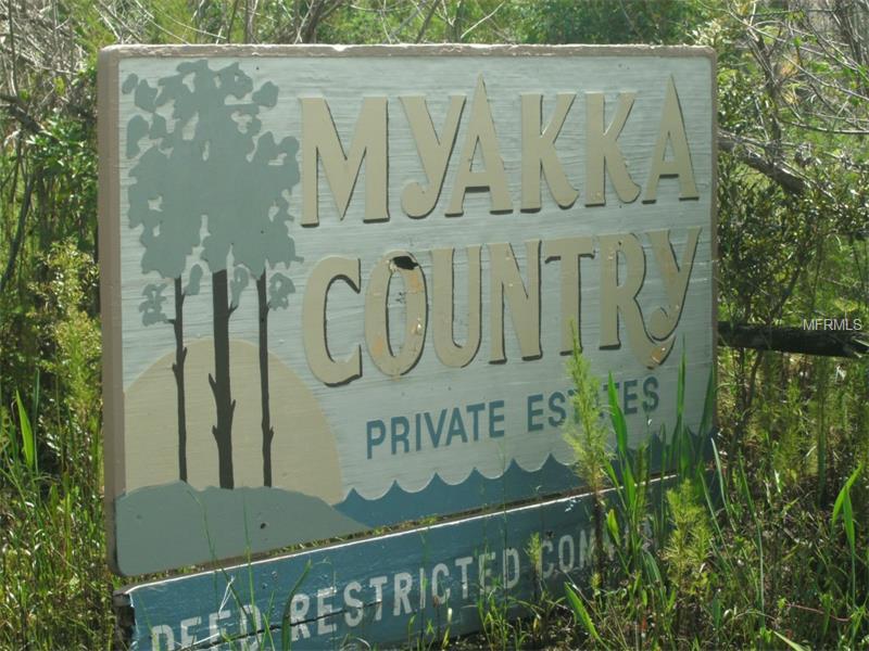 Myakka Country Estates